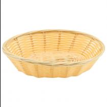Oval Polywicker Basket 17.8 x 12.7cm