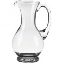 Handled Wine Glass Carafe 1 Litre
