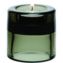 Double Ended Black Tealight Holder