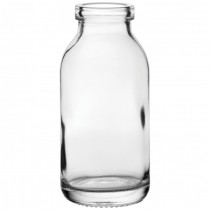 Mini Milk Glass Bottle 12cl 4.25oz