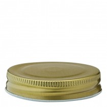 "Drinking Jar Gold Lid 2.75"" (7cm)"