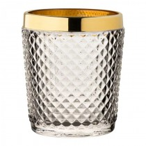 Dante Gold Rim Double Old Fashioned Tumblers 12oz / 34cl