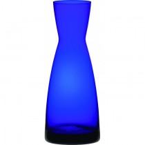 Cobalt Blue Contemporary Glass Carafe 1L