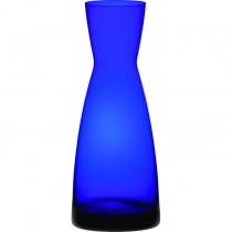 Cobalt Blue Contemporary Glass Carafe 1L