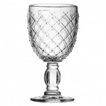 Lattice Goblet Glass 11.5oz (33cl)