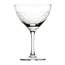 Raffles Diamond Martini Glasses 5.5oz / 16cl