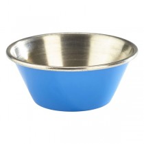 Stainless Steel Ramekin Blue 1.5oz