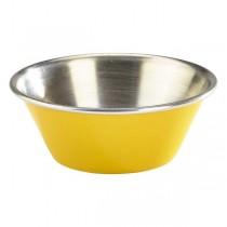 Stainless Steel Ramekin Yellow 1.5oz