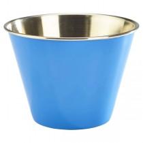 Stainless Steel Ramekin Blue 12oz