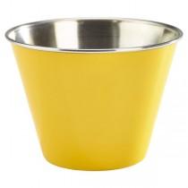 Stainless Steel Ramekin Yellow 12oz