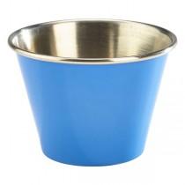Stainless Steel Ramekin Blue 2.5oz