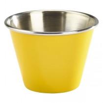 Stainless Steel Ramekin Yellow 2.5oz