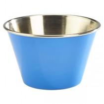 Stainless Steel Ramekin Blue 6oz