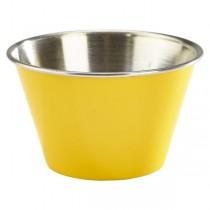 Stainless Steel Ramekin Yellow 6oz