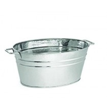 Oval Stainless Steel Beverage Tub