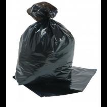 Compactor Sacks Black 20 x 34 x 45inch