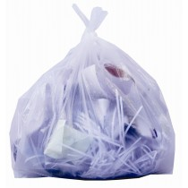 Heavy Duty Swing Bin Liners White