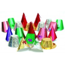 Rialto Holographic Party Hats