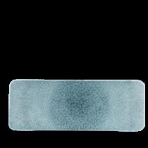 Churchill Studio Prints Raku Topaz Blue Rectangular Tile 37.6 x 14cm