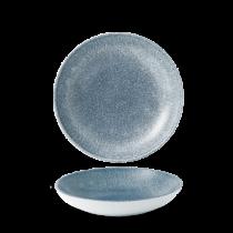 Churchill Studio Prints Raku Coupe Bowl Topaz Blue 18.2cm