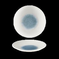 Churchill Bamboo Topaz Blue Deep Coupe Plate 26.5cm
