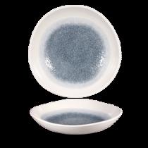 Churchill Studio Prints Raku Organic Round Bowl Topaz Blue 25.3cm