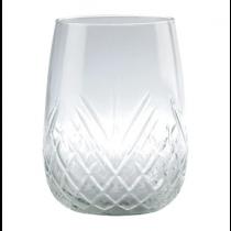 Borgonovo Stemless Rococo Tumbler Glasses 16oz / 455ml