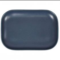 Terra Stoneware Antigo Denim Rectangular Plate  29 x 19.5cm