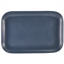 Terra Stoneware Antigo Denim Rectangular Plate 34.5 x 23.5cm