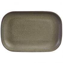 Terra Stoneware Rectangular Plate Antigo 24 x 16.5cm