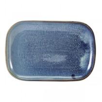 Terra Porcelain Aqua Blue Rectangular Plate 29 x 19.5cm