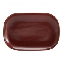 Terra Stoneware Rectangular Plate Red 34.5 x 23.5cm