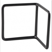Black Anti-Slip L Shape Riser 10 x 10 x 10cm