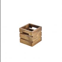 Acacia Wood Box / Riser 12 x 12 x 12cm
