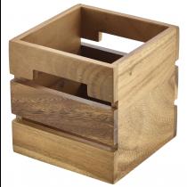 Acacia Wood Box/ Riser 15 x 15 x 15cm