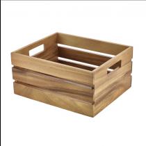Acacia Wood Box / Riser GN 1/2
