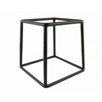Black Anti-Slip Buffet Riser 18 x 18cm