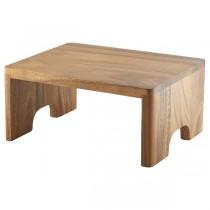 Acacia Wood Buffet Riser GN 1/2