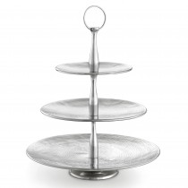Three-Tiered Round Serving Set