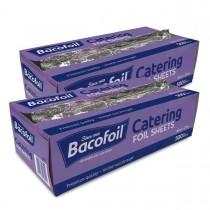 Bacofoil Catering Foil Sheets 30 x 27cm