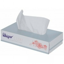 Whisper Facial Tissue Box