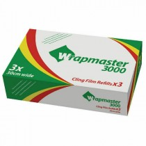 Wrapmaster 3000 Cling Film Refill 30cm x 300m