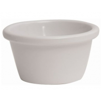 Genware Smooth Melamine Ramekin White 1.5oz