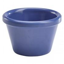 Genware Smooth Melamine Ramekin Blue 1.5oz