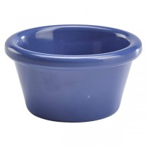 Genware Smooth Melamine Ramekin Blue 2oz