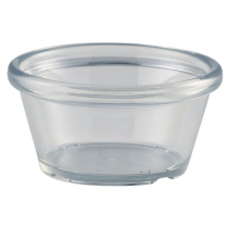 Clear Plastic Smooth Ramekin 3oz