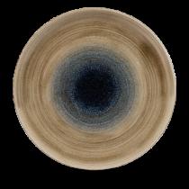 Churchill Stonecast Aqueous Bayou Coupe Plate 28.8cm