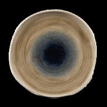 Churchill Stonecast Aqueous Bayou Organic Round Plate 26.4cm