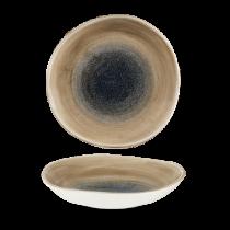 Churchill Stonecast Aqueous Bayou Organic Round Bowl 25.3cm