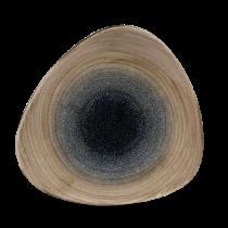 Churchill Stonecast Aqueous Bayou Triangle Plate 22.9cm